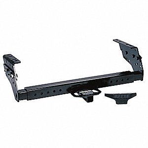 Class II Trailer Hitch with Metal Shield ® Black Coating Finish and 3500 Capacity GVW (Lb.)