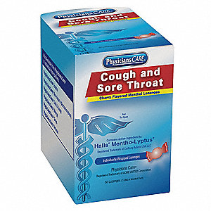 Sore Throat Lozenges Lozenge&#x3b; PK50