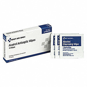 "Alcohol Wipes, 1 x 2-1/2"" Packet"