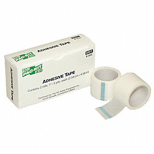 Tape,White,1 In. W,5 ft. L,PK2