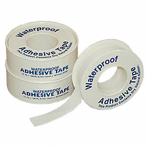 Tape,White,1/2 In. W,5 ft. L