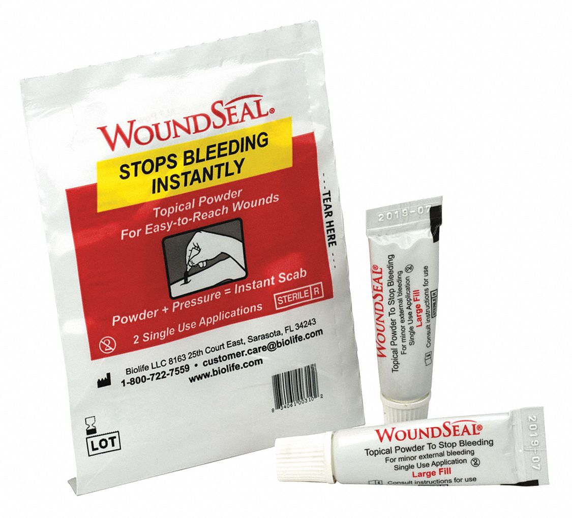 Wound Seal,  Potassium Salt,  Waterproof No,  PK 2