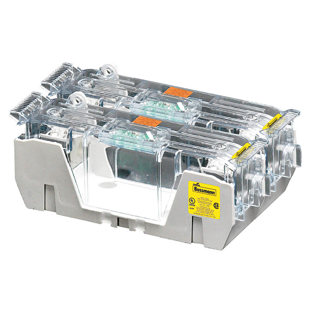 Eaton Bussmann 2 Pole Industrial Fuse Block Ac 250vac Dc 250vdc Box Zoom Out Reset Put Photo At Full Then Double Click