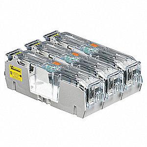 BUSSMANN Fuse Block, Industrial, 101 to 200A, Fuse UL Class K5, H, 600VAC -  39P371|HM60200-3CR - GraingerGrainger