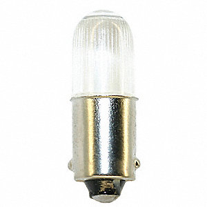 0.3 Watts LED Lamp, T3-1/4, Miniature Bayonet (BA9s), 10 Lumens