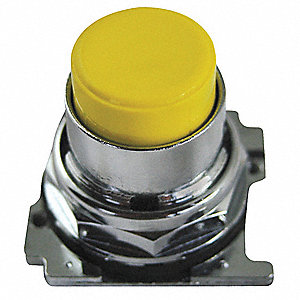 Metal Push Button Operator, Type of Operator: Extended Button, Size: 30mm, Action: Momentary Push