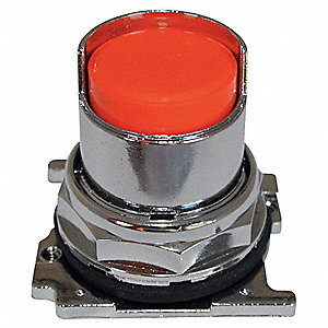 Non-Illum Push Button Operator,Orange