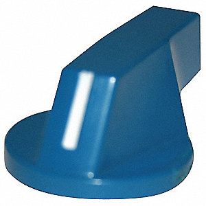 30mm Extended Lever Selector Switch Knob, Blue