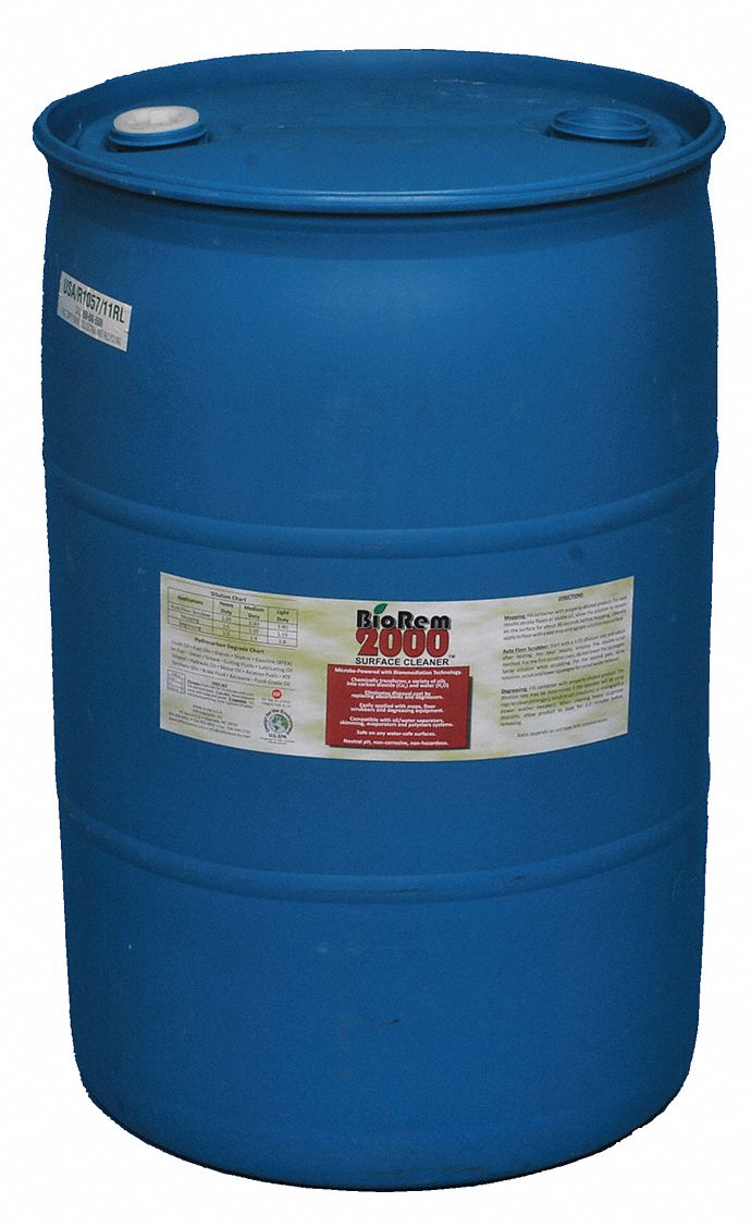 Product Type Liquid Oil Eating Microbes,  Container Size 55 gal,  Container Type Drum