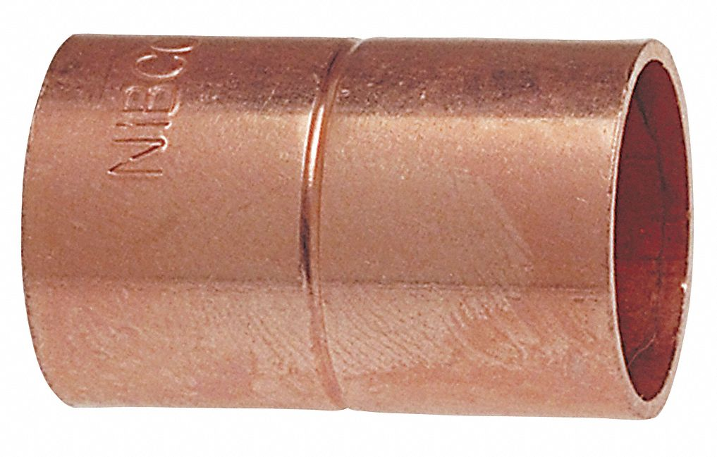 Nibco Coupling Wrot Copper 1 2 C X C 39r489 600rs 1 2 Grainger