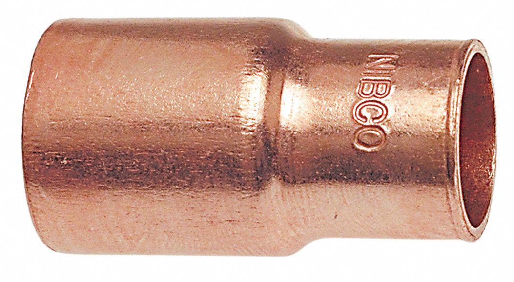 Nibco Reducer Wrot Copper 1 1 2 In X 3 4 In Ftg X C 39r520 6002 11 2x3 4 Grainger