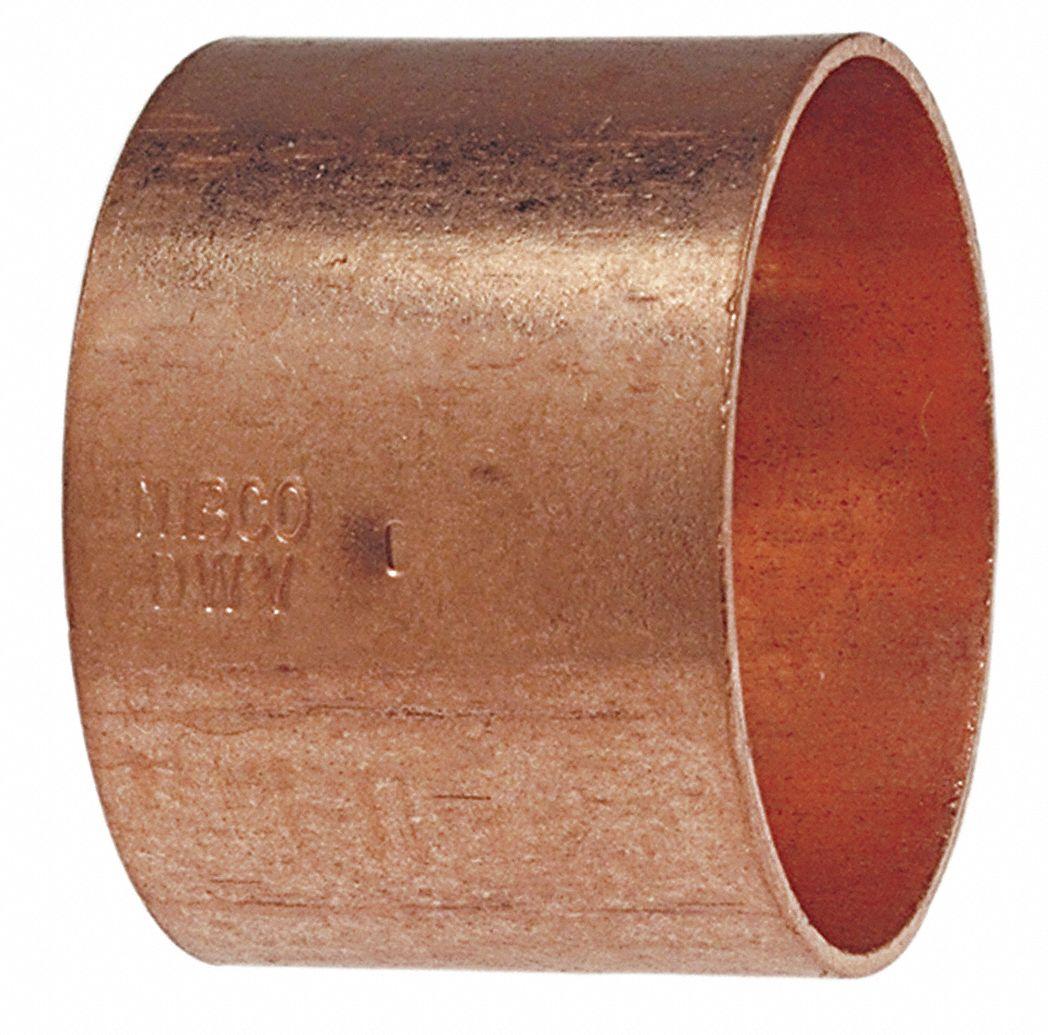 Nibco Coupling Wrot Copper 1 1 2 In C X C 39r526 901 11 2 Grainger
