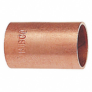 "Wrot Copper Coupling, C x C Connection Type, 4"" Tube Size"