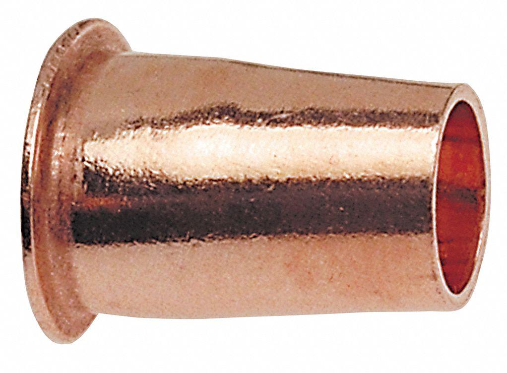 Nibco Adapter Wrot Copper 3 4 In Ftg 39r715 621 3 4 Grainger