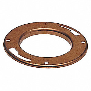 "Flange, Wrot Copper, C, 4"" x 3"" Tube Size"