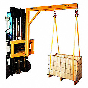 Carriage Forklift Boom, 4000 lb., Horizontal Reach 6 ft.