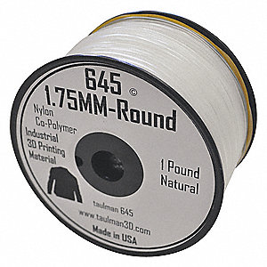 White Filament, Nylon, 2.85mm Diameter