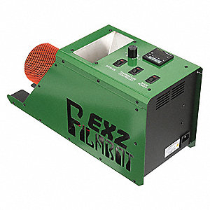 Filament Extruder,110VAC,0-35 rpm,Green
