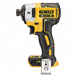 Cordless Impact Driver,1/4 in. Hex,20.0V