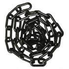 1-1/2IN PLASTIC CHAIN BLACK 50FT