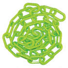 1-1/2IN PLASTIC CHAIN GREEN 50FT