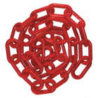 2IN PLASTIC CHAIN RED 100FT
