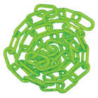 2IN PLASTIC CHAIN GREEN 100FT