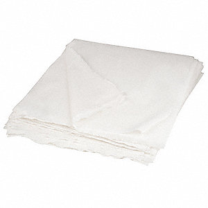 "CapSure®-LP Knitted Polyester Cleanroom Wipes, 150 Ct. 9"" x 9"" Sheets, White"