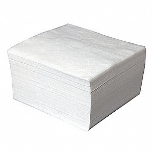 "ValuClean® Plus 50% Rayon/50% Polyester Hydroentangled Cleanroom Wipes, 300 Ct. 9"" x 9"" Sheets, Whit"