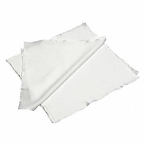 "Choice® Edge Knitted Polyester Cleanroom Wipes, 100 Ct. 9"" x 9"" Sheets, White"