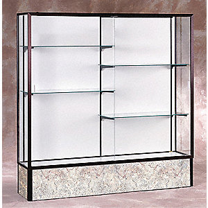 Display Case,72x72x16,Dark Bronze