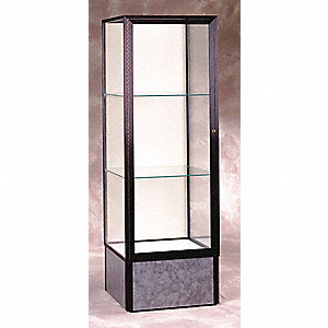 Display Case,72x24x24,Dark Bronze