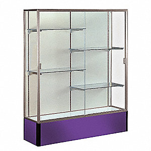 Display Case,72x48x16,Purple