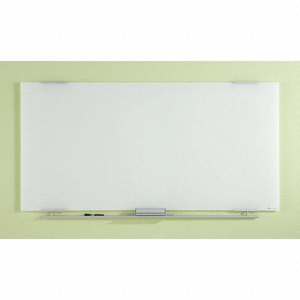 Iceberg Gloss Finish Glass Dry Erase Board Wall Mounted