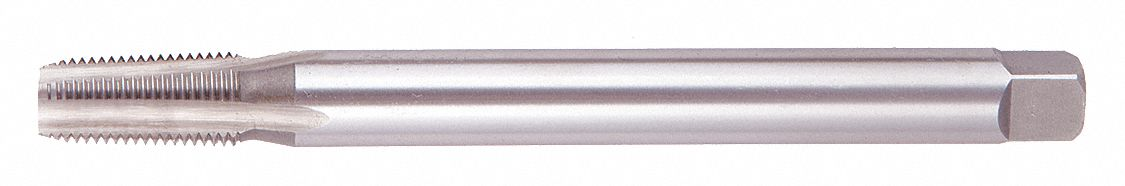 "Extension Tap,  Thread Size 1/4""-18,  NPT, NPTF,  Overall Length 6 in,  High Speed Steel"