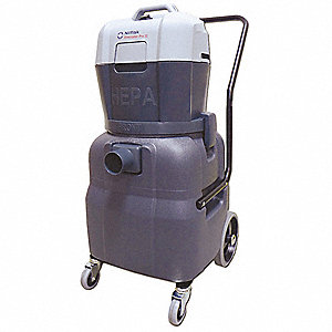 12 gal. Eliminator Series Wet/Dry Vacuum, 130 cfm, 1-5/8 HP, 8.5 Amps, HEPA Filter Type