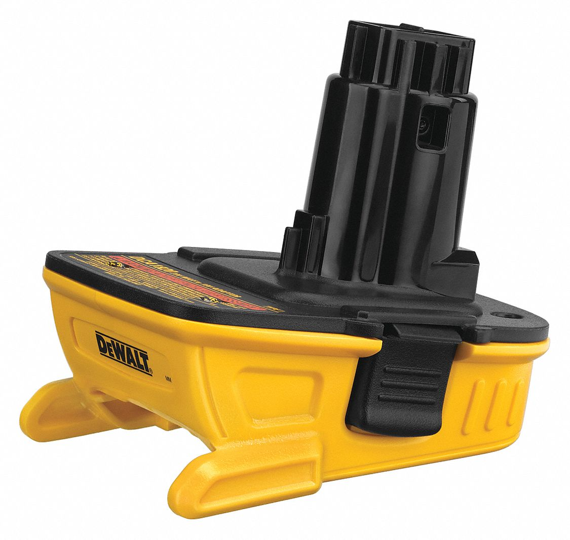 Battery Adapter,  For Use With 18V DEWALT® Tools