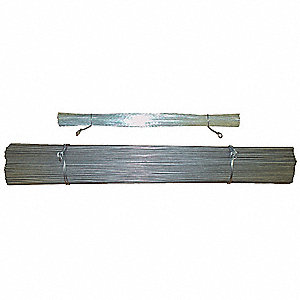 Straight Wire,Galvanized,1.3 ft.,PK1000