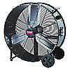 AIR CIRCULATOR,9600 CFM,115V,30 IN,STEEL