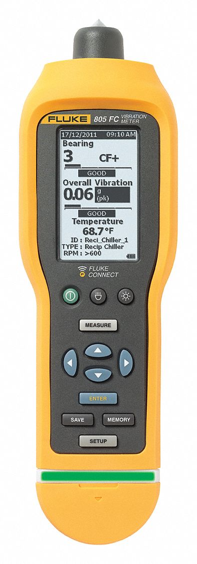 Vibration Meter, Fluke Connect(TM)