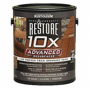 Rust Oleum Anti Slip Acrylic Floor Coating Timberline 1