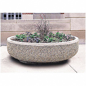 Planter, Round, 60in.Lx60in.Wx17in.H