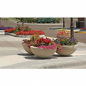 Planter,Round,60in.Lx60in.Wx18in.H
