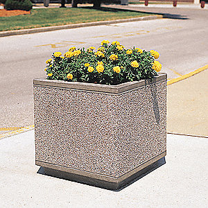 Planter,Square,30in.Lx30in.Wx30in.H