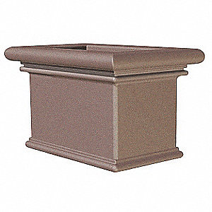 Planter, Rectangle, 36in.Lx22in.Wx24in.H