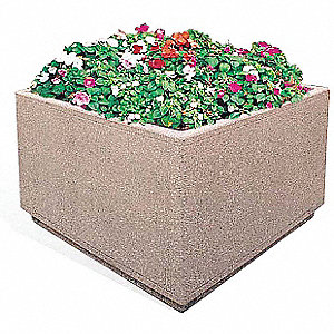 Planter, Square, 48in.Lx30in.Wx30in.H