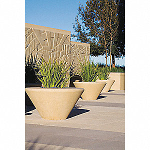 Planter,Round,36in.Lx36in.Wx18in.H