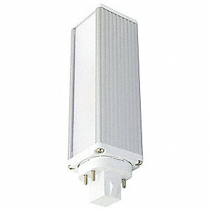 12.0 Watts LED Lamp, PL Horizontal, 4-Pin (G24Q/GX24), 1000 Lumens, 3500K Bulb Color Temp.
