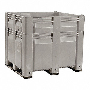 Bulk Container,40-3/4in.H
