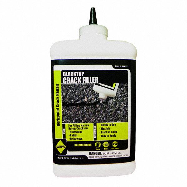 Asphalt Crack Filler Products : Sakrete black blacktop crack filler qt bottle